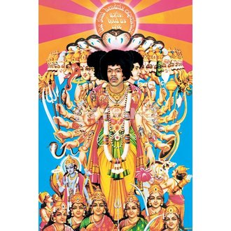plakát Jimi Hendrix (Axis Bold As Love) - PYRAMID POSTERS - PP32439