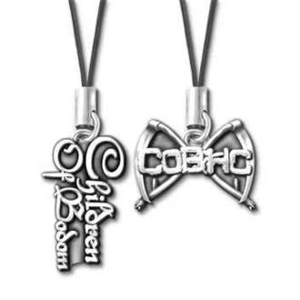 šperk na mobil Children of Bodom - Logo & Scythes PPC4, ALCHEMY GOTHIC, Children of Bodom
