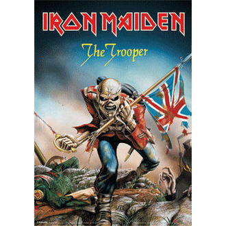 obraz 3D Iron Maiden - The Trooper - PYRAMID POSTERS, PYRAMID POSTERS, Iron Maiden