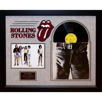 LP s podpisem Roliing Stones - Sticky Fingers, ANTIQUITIES CALIFORNIA, Rolling Stones