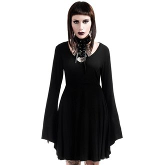 šaty dámské KILLSTAR - Spyda Lace-Me-Up - Black, KILLSTAR