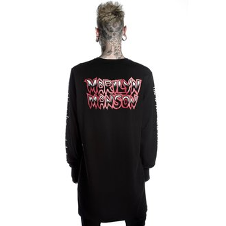 tričko unisex s dlouhým rukávem KILLSTAR - MARILYN MANSON - This Is Your World - Black, KILLSTAR, Marilyn Manson