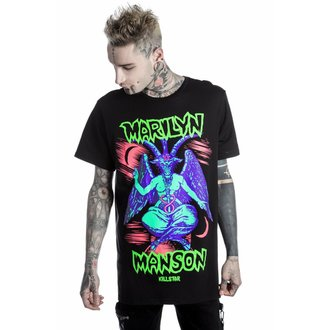 tričko unisex KILLSTAR - MARILYN MANSON - When I'm God - Black, KILLSTAR, Marilyn Manson