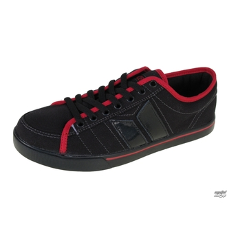 boty MACBETH - Manchester - BLACK/RED/TRON
