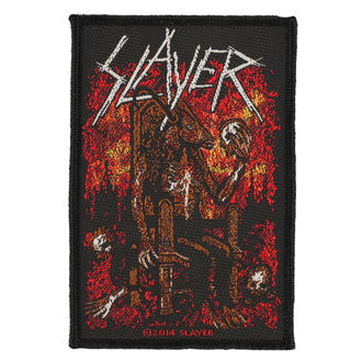 nášivka SLAYER - DEVIL ON THRONE - RAZAMATAZ, RAZAMATAZ, Slayer
