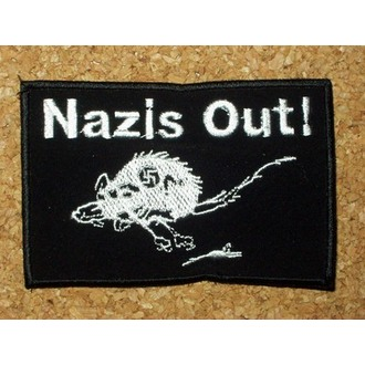 nášivka Nazis Out!