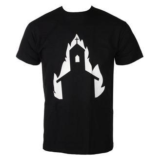 47f4d384db6 tričko pánské BURNING CHURCH - symbol 3 - TS-077 - metalshop.cz
