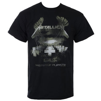tričko pánské Metallica - Master Of Puppets - Distressed - Black, Metallica