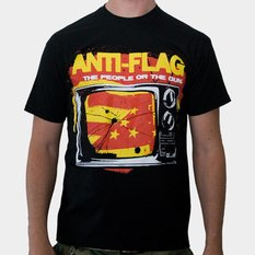 tričko pánské Anti Flag (The People Or The Gun) - Black - KINGS ROAD - 00004