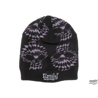 kulich EMILY THE STRANGE - Emily (E4082005) Optical Skull Beanie