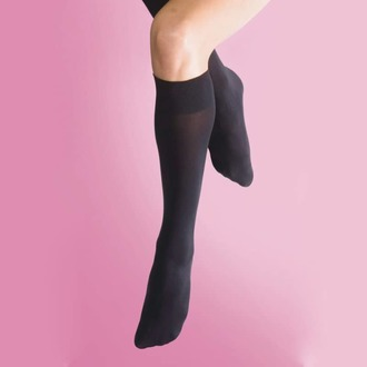 podkolenka LEGWEAR - 70 denier opaque knee high 1pp - black, LEGWEAR