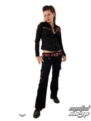 kalhoty dámské QUEEN OF DARKNESS TR1-130/06