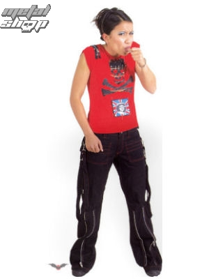 kalhoty dámské QUEEN OF DARKNESS tr1-101/04