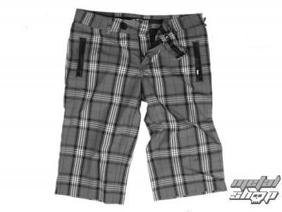 kraťasy dámské VANS - Plaid Shorties - Carbon Plaid