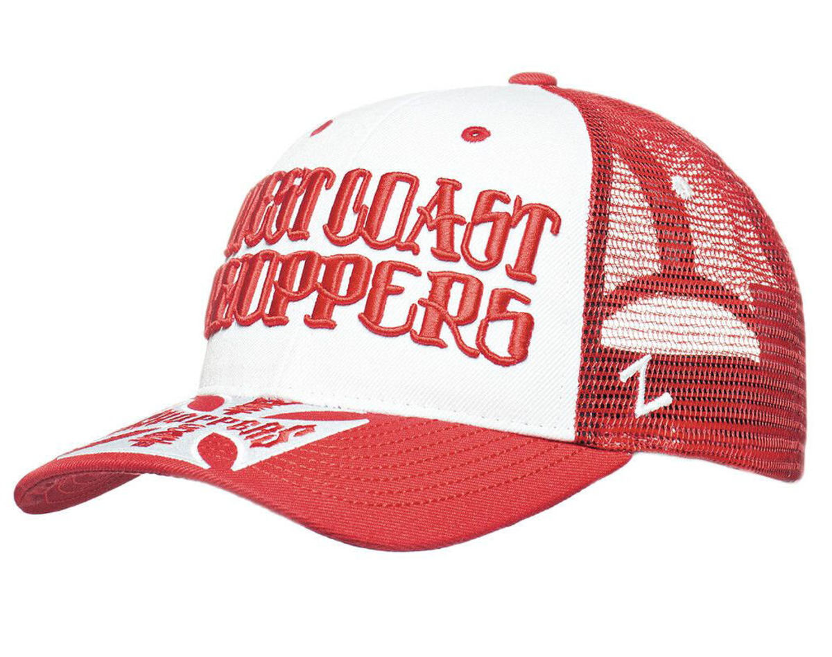 kšiltovka WEST COAST CHOPPERS - CLUTCH LOGO ROUND BILL - Red - WCCPT138RD