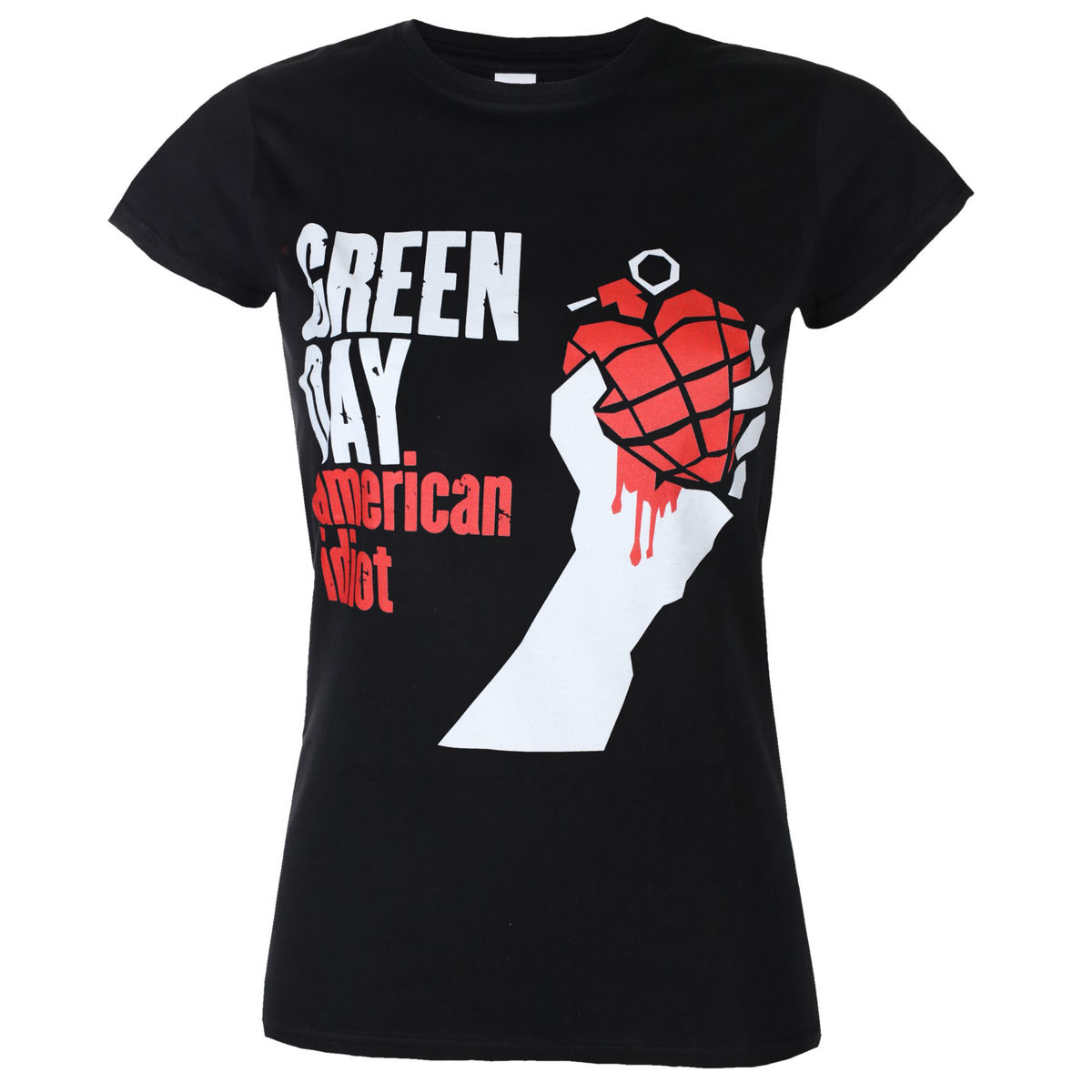 ROCK OFF Green Day American Idiot černá S