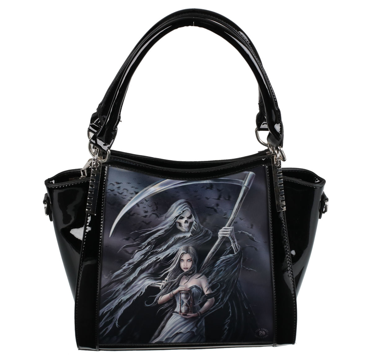 kabelka (taška) ANNE STOKES - Summon The Reaper - Black - AS003AS003