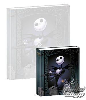 hrající notes Nightmare Before Christmas - Musical Mini-Notebook Jack & Zero - NBX27005