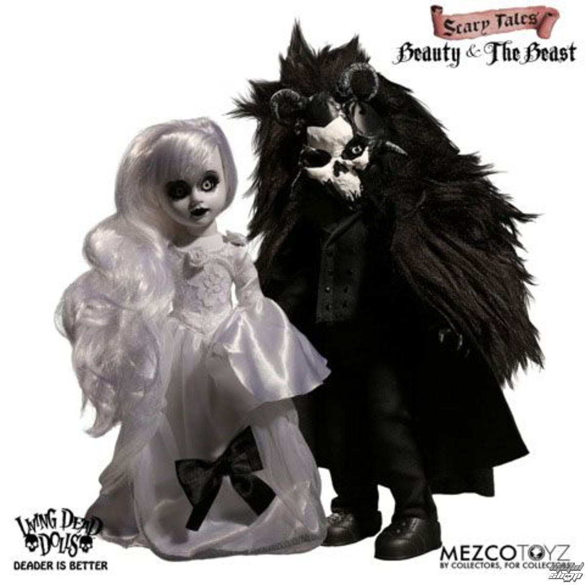 LIVING DEAD DOLLS Scary Tales Beauty and the Beast