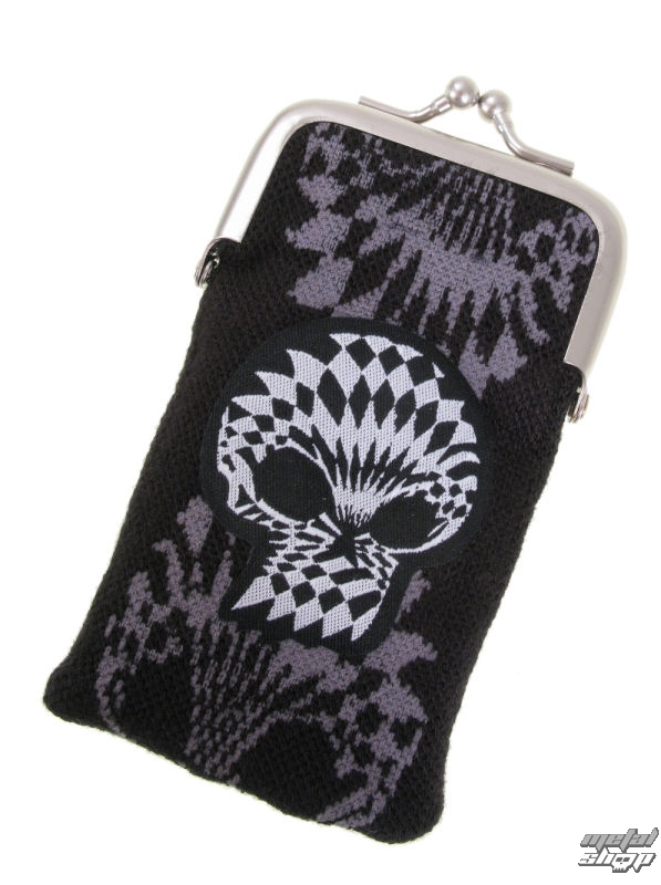 pouzdro EMILY THE STRANGE - Emily (E4082316) Optical Skull mobile phone purse